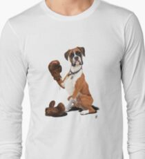 The Boxer (wordless) Long Sleeve T-Shirt