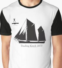Trading Ketch 1873 by Tony Fernandes Graphic T-Shirt