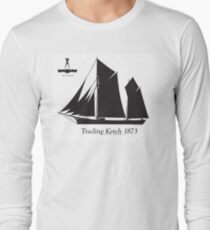 Trading Ketch 1873 by Tony Fernandes Long Sleeve T-Shirt