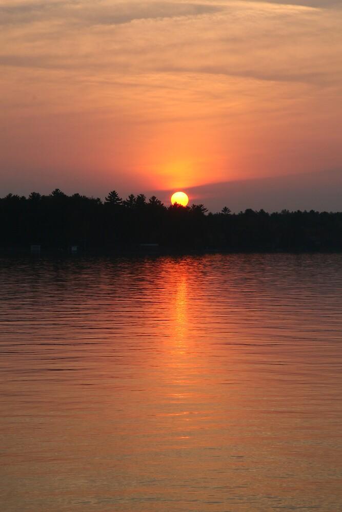 Muskoka Sunset 2 by John Clarke