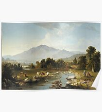 Asher Brown Durand - High Point, Shandaken Mountains Poster