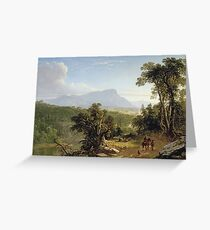 Asher Brown Durand - Landscape - Composition In The Catskills Greeting Card