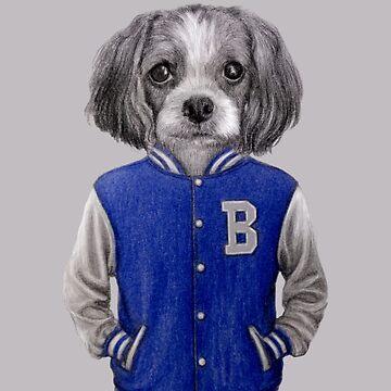 dog boy portrait by windzao