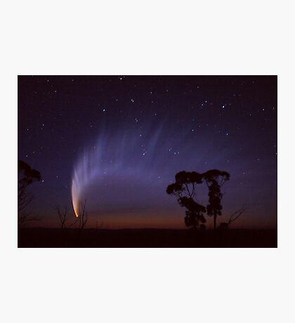 McNaughts Comet over Hampton Photographic Print