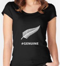 All Blacks Genuine Fern Women's Fitted Scoop T-Shirt
