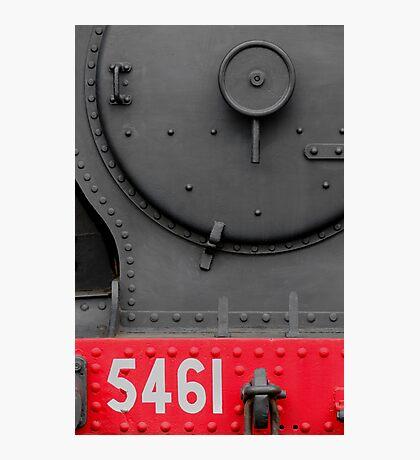 Steam Loco Front Photographic Print