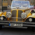 Old car to tour Old town by magiceye