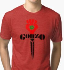 Gonzo Is Off The Wall - ONE:Print Tri-blend T-Shirt