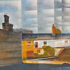 Totnes Castle by Bernard Barnes
