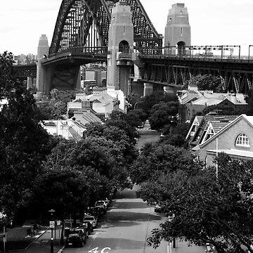 Sydney Harbour Bridge from The Rocks by SteveKilburn