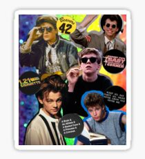 80's & 90's Movie Actors Collage Sticker