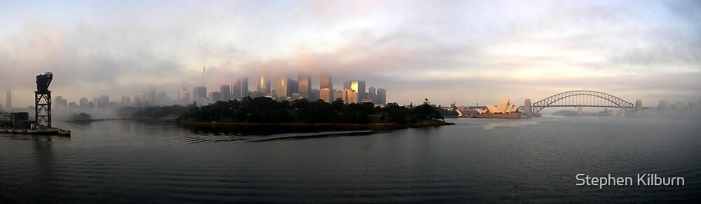 Sydney in Fog by Stephen Kilburn