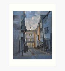 Totnes Clock Tower Art Print