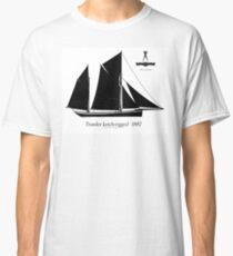 Trawler ketch-rigged 1887 by Tony Fernandes Classic T-Shirt