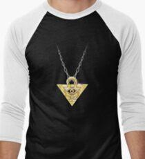 Yu-Gi-Oh! Millennium Puzzle Men's Baseball ¾ T-Shirt