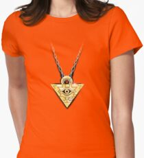 Yu-Gi-Oh! Millennium Puzzle Womens Fitted T-Shirt
