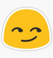 Smirking Emoji Android Sticker