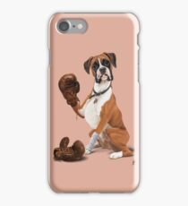 The Boxer (colour) iPhone Case/Skin