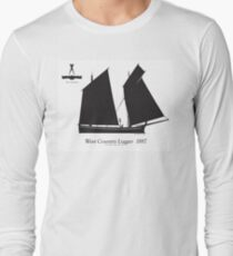 West Country Lugger 1887 by Tony Fernandes T-Shirt