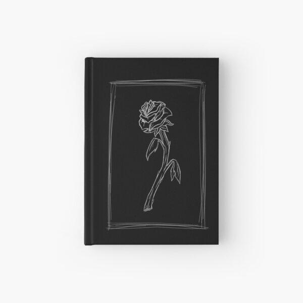 Rose Black Hardcover Journal
