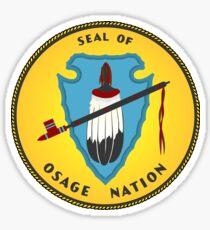 Osage Nation Sticker