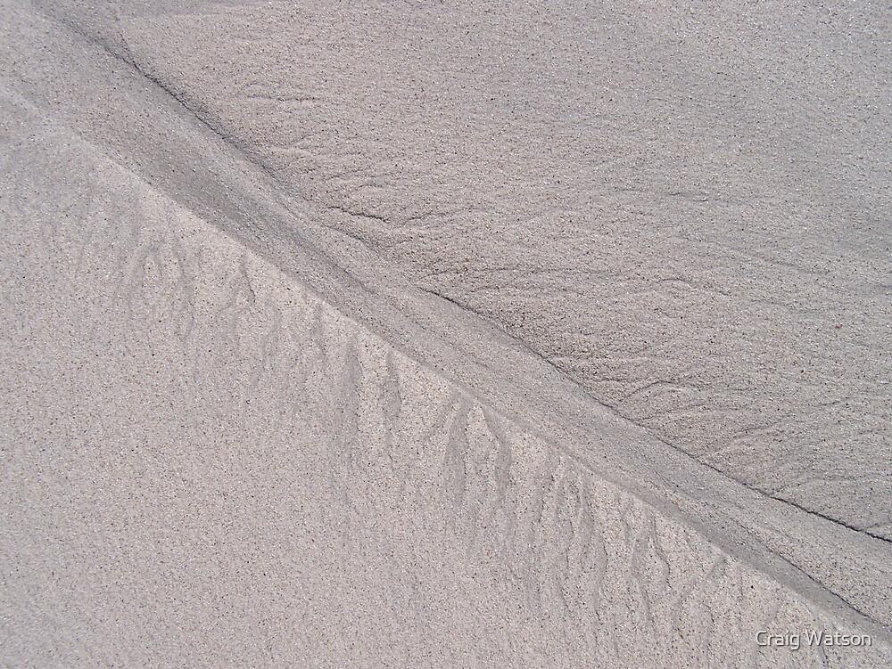 Sand patterns by Craig Watson