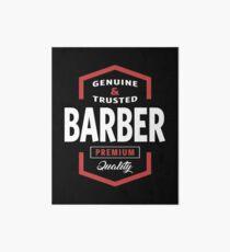 Barber Logo Gift Ideas Art Board