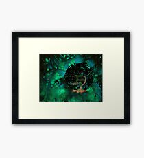WDV - 340 - Nebula Tingle Framed Print