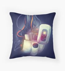 GLaDOS Throw Pillow