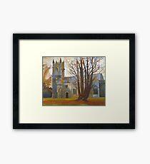 Dartington Church, Devon Framed Print