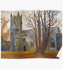 Dartington Church, Devon Poster