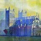 Exeter Cathedral, Devon by Bernard Barnes