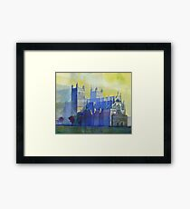 Exeter Cathedral, Devon Framed Print