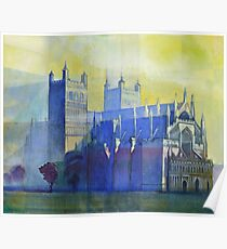 Exeter Cathedral, Devon Poster