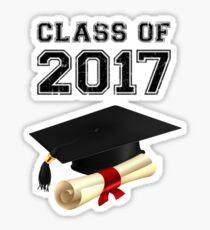 Graduation - Class of 2017! Sticker