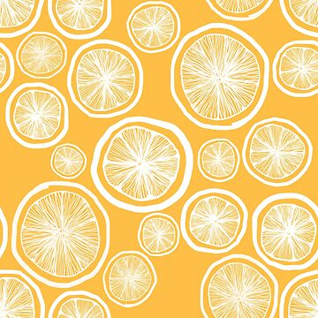 Illustrated Citrus Pattern by lauratubb