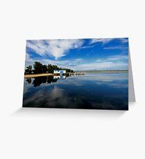 Tuggerah Lake Reflection Greeting Card