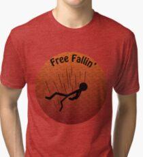 Free fallin Tri-blend T-Shirt
