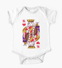 king of hearts One Piece - Short Sleeve