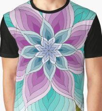 Monroe Purple Teal Olive Graphic T-Shirt