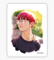 Strawberry Tae Sticker