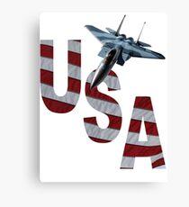 US Air Force F-15  Canvas Print