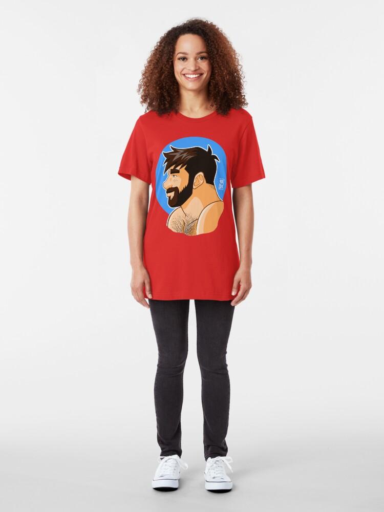 Alternate view of ADAM PORTRAIT - PROFILE Slim Fit T-Shirt