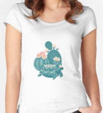 Find a tortoise  Women's Fitted Scoop T-Shirt
