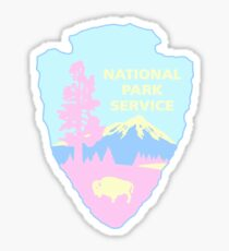 Pastel National Park  Sticker