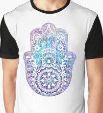 Space Hamsa Hand - I Graphic T-Shirt