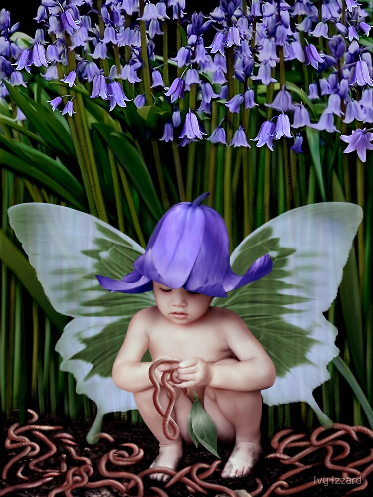 Worms and Bluebells by Ivy Izzard