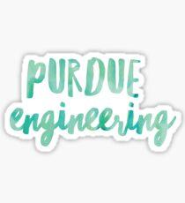 Purdue Engineering Sticker