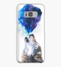 Howling Wolf Samsung Galaxy Case/Skin