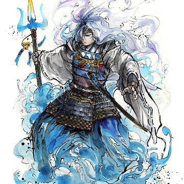 Poseidon Samurai by Mycks